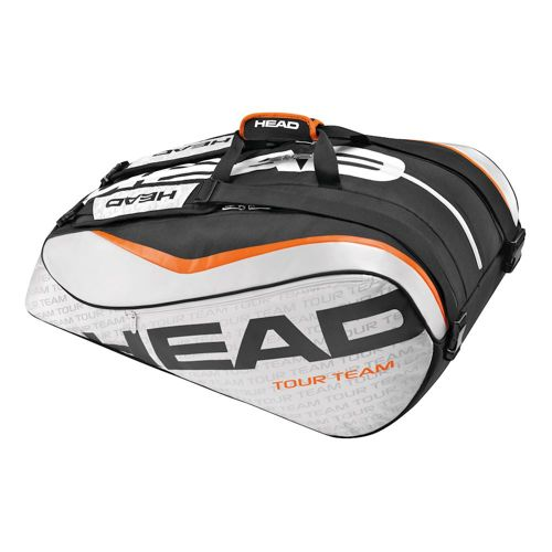 HEAD Tour Team 12R Monstercombi Racket Bag - Silver, Black