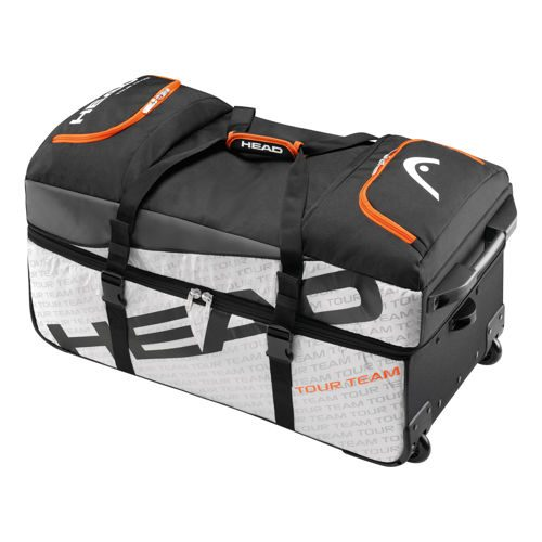 HEAD Tour Team Travel Bag Travel Bag - Silver, Black