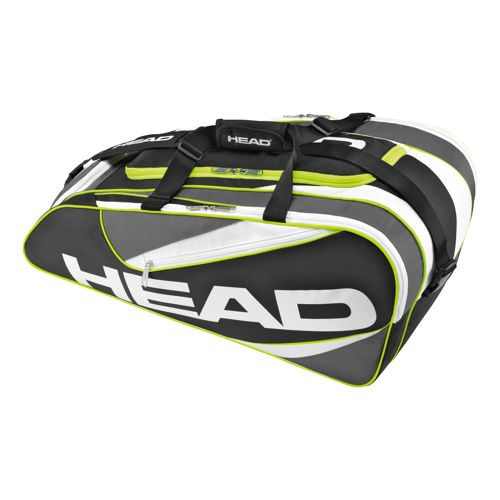 HEAD Elite All Court Racket Bag - Black, Anthracite