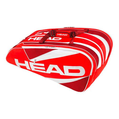 HEAD Elite 12R Monstercombi Racket Bag - Red