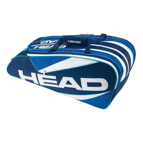 HEAD Elite 9R Supercombi Racket Bag - Blue, Light Blue