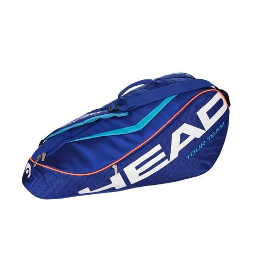 HEAD Tour Team 6R Combi Racket Bag - Blue