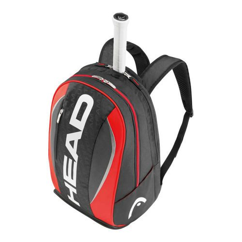 HEAD Tour Team Backpack - Black, Red