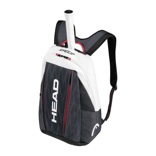 HEAD Djokovic Backpack - Black, White
