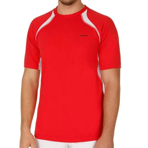 HEAD Club Technical T-Shirt Men - Red