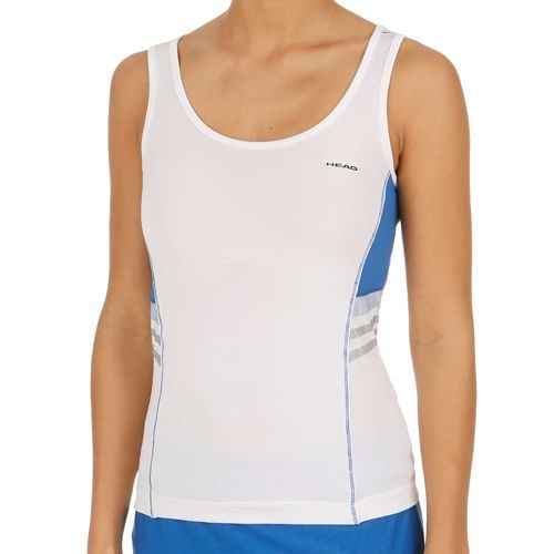HEAD Club Top Women - White, Blue