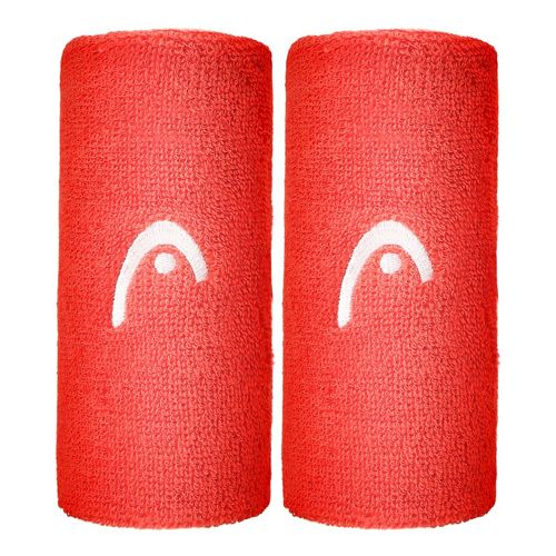 HEAD 5' ( Pack ) Wristband 2 Pack - Coral
