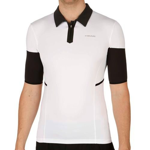 HEAD Performance Couture Polo Men - White, Black