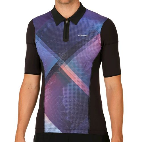 HEAD Performance Couture Sub Polo Men - Black, Blue