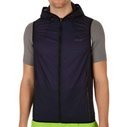 HEAD Performance Trans Light Vest Men - Dark Blue, Black
