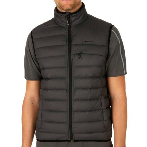 HEAD Performance Light Insulation Vest Men - Anthracite, Black