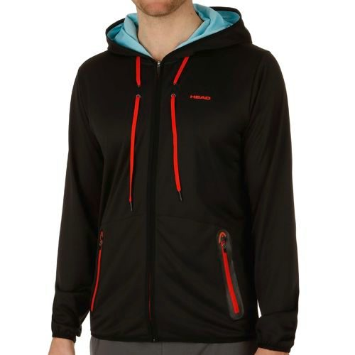 HEAD Vision Amir Tech Training Jacket Men - Black, Lightred
