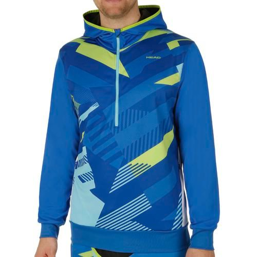 HEAD Vision Coby Tech Hoody Men - Blue, Light Green