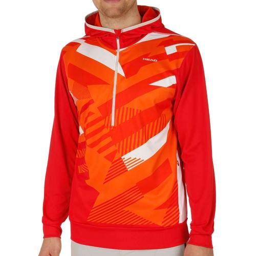 HEAD Vision Coby Tech Hoody Men - Lightred, Orange