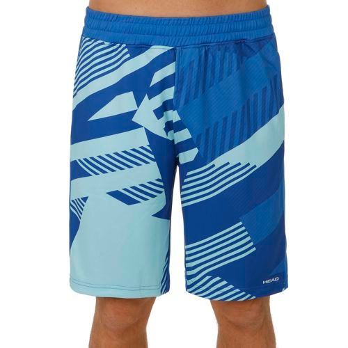 HEAD Vision Clay Knitted Shorts Men - Blue, Light Blue