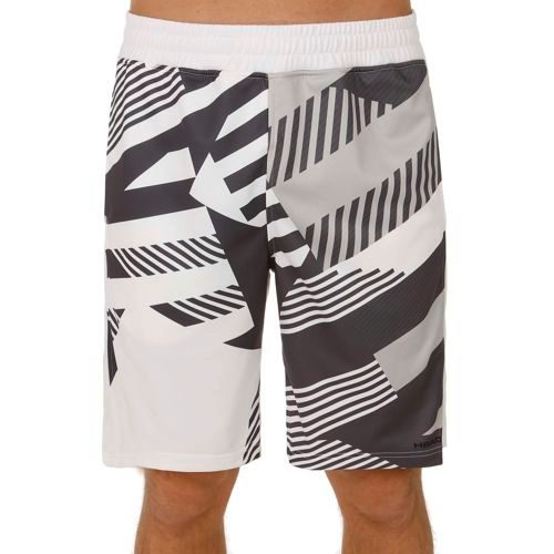HEAD Vision Clay Knitted Shorts Men - White, Black