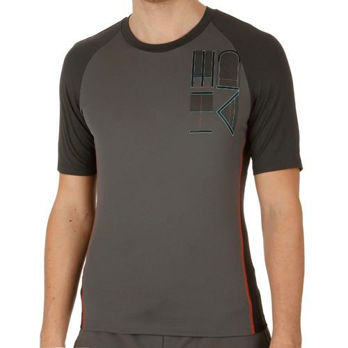 HEAD Transition T4S Shortsleeve T-Shirt Men - Anthracite, Black