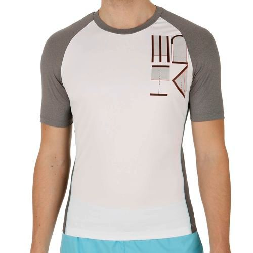 HEAD Transition T4S Shortsleeve T-Shirt Men - White, Lightgrey