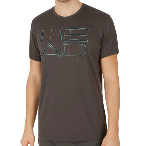HEAD Transition Duke Graphic T-Shirt Men - Anthracite