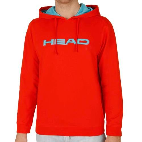 HEAD Basics Byron Hoody Men - Lightred, Light Blue