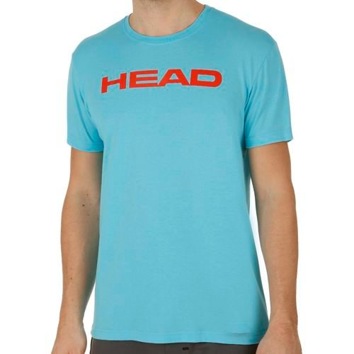 HEAD Basics Ivan T-Shirt Men - Light Blue, Lightred