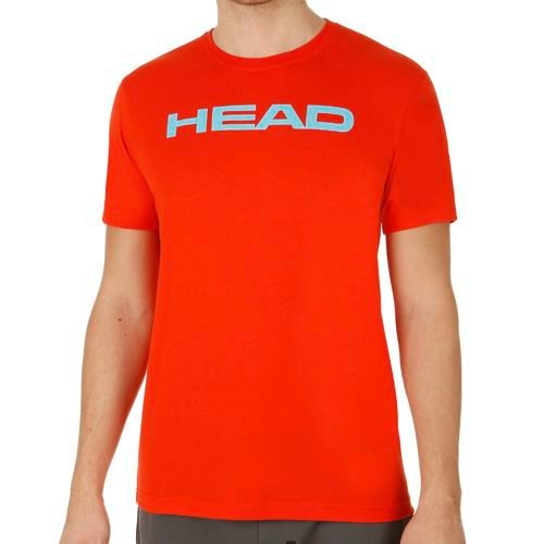 HEAD Basics Ivan T-Shirt Men - Lightred, Light Blue