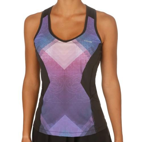 HEAD Performance Couture Sub Top Women - Black, Blue