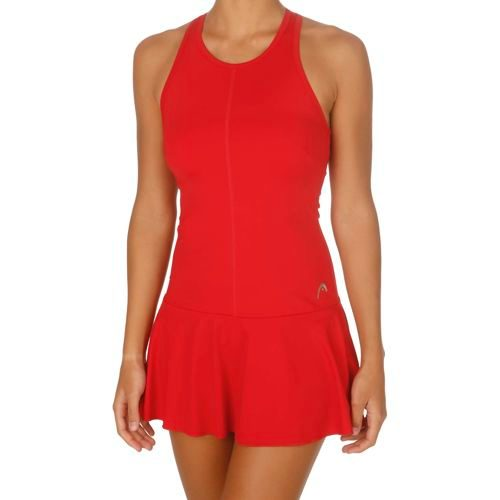 HEAD Performance High Summer Theseus Dress Women - Red