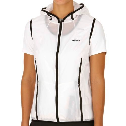 HEAD Performance Trans Light Vest Women - White, Black