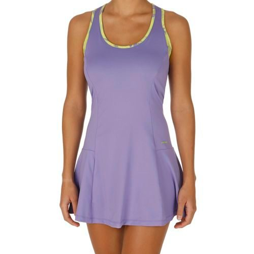 HEAD Vision Bella Dress Women - Violet, Green