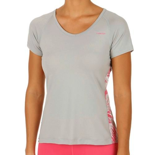 HEAD Vision Bee T-Shirt Women - Lightgrey, Pink