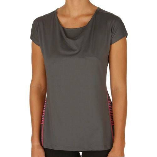HEAD Vision Beth Waterfall T-Shirt Women - Anthracite, Turquoise