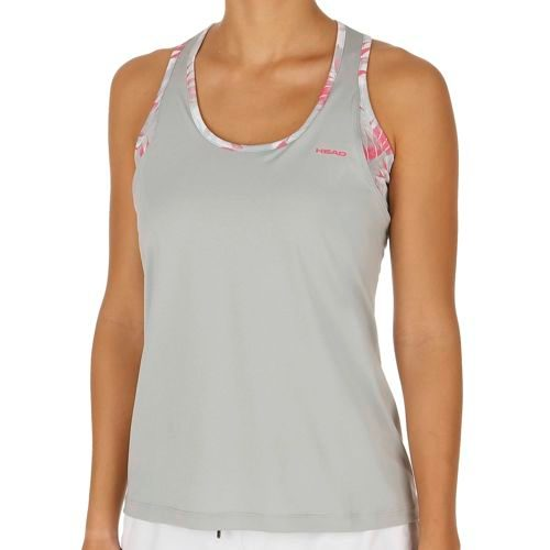HEAD Vision Brenda With Tank Top Women - Lightgrey, Pink