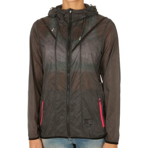 HEAD Transition T4S Tech Shell Training Jacket Women - Anthracite, Grey