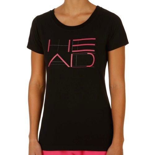 HEAD Transition T4S Funy Graphic T-Shirt Women - Black, Pink