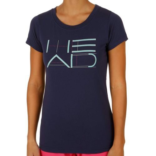 HEAD Transition T4S Funy Graphic T-Shirt Women - Dark Blue, Turquoise