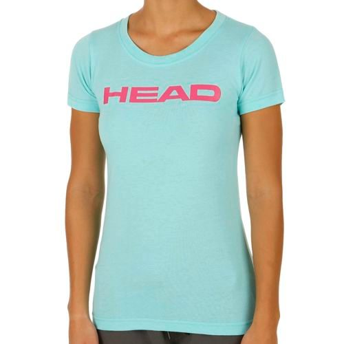 HEAD Transition Lucy T-Shirt Women - Turquoise, Pink