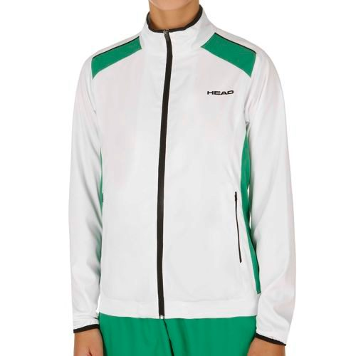 HEAD Club Jacket Training Jacket Women - White, Green