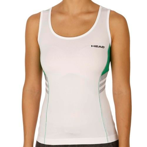 HEAD Club Top Women - White, Green