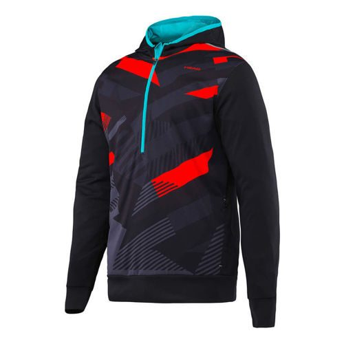 HEAD Vision Coby Tech Hoody - Black, Lightred