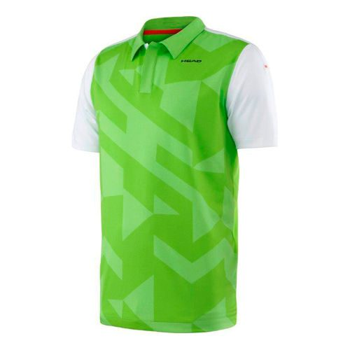 HEAD Vision Camden Polo Boys - Green, White