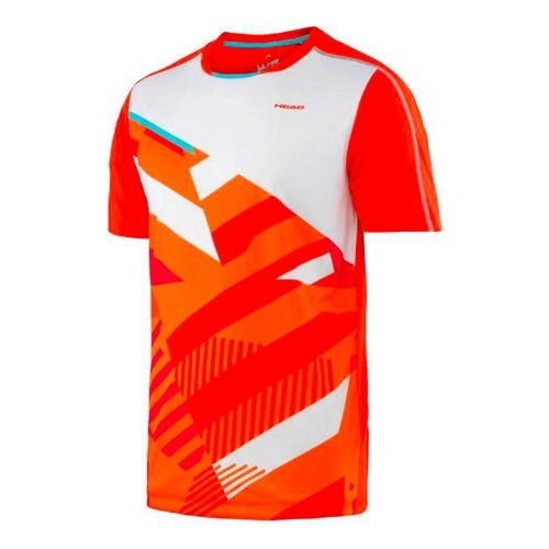 HEAD Vision Cay T-Shirt - Lightred, Orange