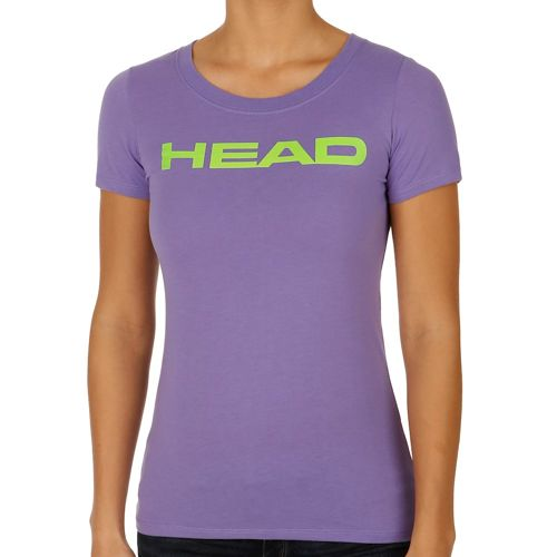 HEAD Transition Lucy T-Shirt Women - Violet, Green