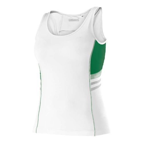 HEAD Club Tank Top Girls - White, Green