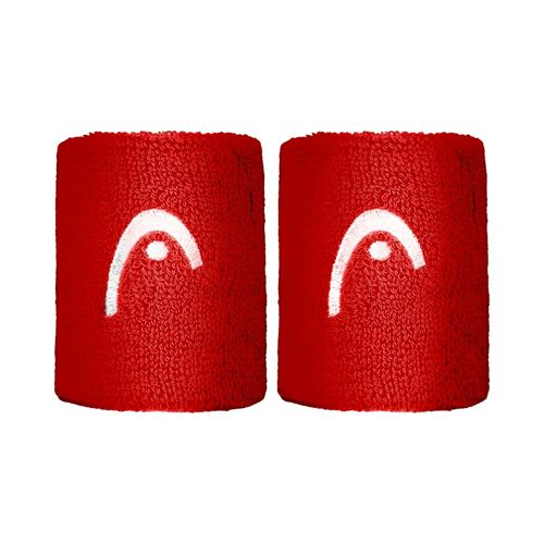 HEAD Wristband 2 Pack - Red