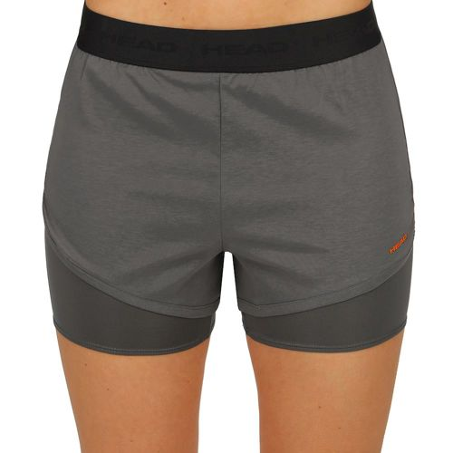 HEAD Vision Shorts Women - Dark Grey, Black