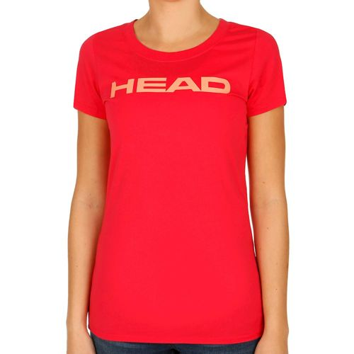 HEAD Lucy T-Shirt Women - Red, Apricot