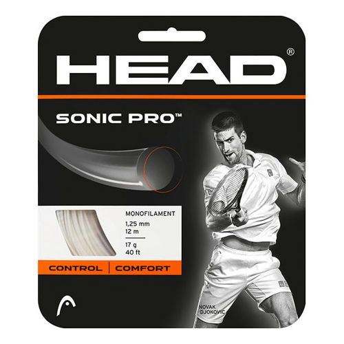 HEAD Sonic Pro String Set 12m - White