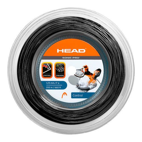 HEAD Sonic Pro String Reel 200m - Black