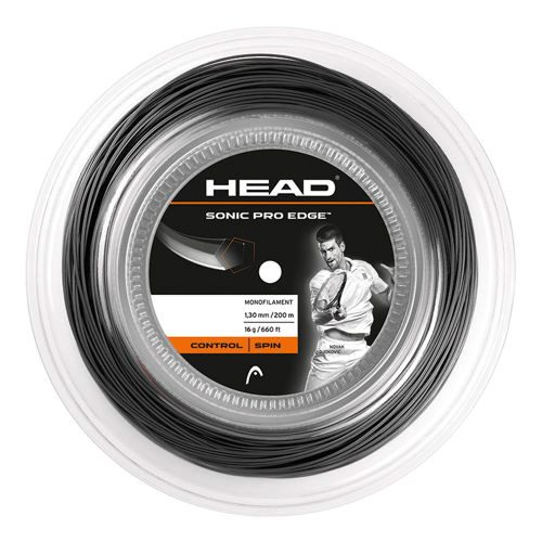 HEAD Sonic Pro Edge String Reel 200m - Anthracite